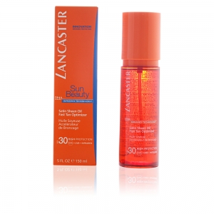 SUN BEAUTY satin sheen oil fast tan optimizer SPF30 150 ml